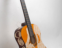 Carved Guitar