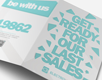 Brochures Pack A4 + Trifold + Flyer + Card