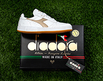 DIADORA B.ELITE KANGAROO LEATHER - LIMITED EDITION