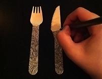 Fork & Knife | Doodling