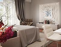 Concept white bedroom
