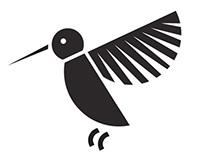 Geometric Bird Symbols
