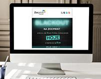 Campanha Blackout - Zocprint Serviços Gráficos