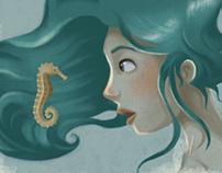 A seahorse!