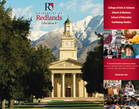 University of Redlands Trade Show Booth Materials
