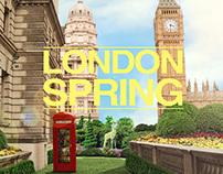 Photoshop - London Spring