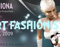 Glam-Art Fashionista - Flyer Design
