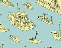 Ships, Boats, and Buoys