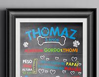 Festa para Thomaz!