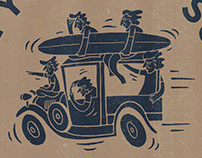 Surf Safari/ merchandise