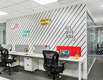 Office space - Environmental graphics