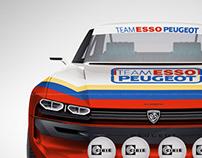 Peugeot e-Legend Rally