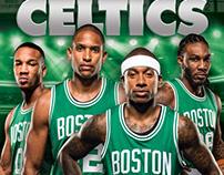 Boston Celtics Yearbook Covers