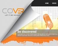 Cover Website Mock Up