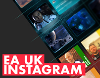 Electronic Arts UK Instagram Design Overview