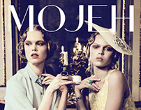 Design for MOJEH Magazine
