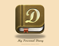 My Personal Diary IOS App Icon
