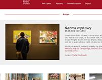 Website for orońsko