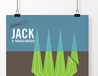 INFOGRAFICA. Jack il fagiolo magico.