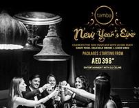 Tamba Restaurant - New Year Eve