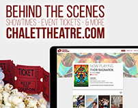 Chalet Theatre Website