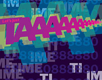 TimeCop1983 - typographic poster