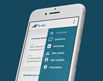 UX / UI Design for Management App