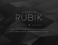 Rubik Builder by Creative Tim