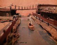 3D handmade models~
