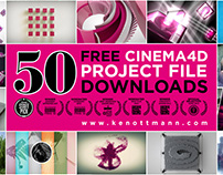 DOWNLOAD FREE CINEMA 4D PROJECTS - UPDATE 2016