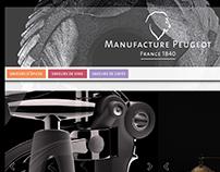New web site Peugeot Saveurs 04-2016