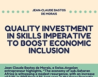 Quality Investment in Skills Imperative