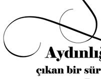 Calligraphic lines