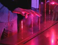 Marlboro @ MUTEK MX - Laser Music Sequencer
