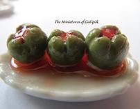 Miniature Turkish Food By Gül ipek istanbul Turkey