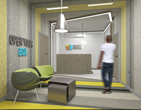 "advertising agency ""BOX"" interior"