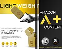 Amazon A+ Content Design