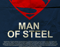 Man of Steel - Minimalistic Posters
