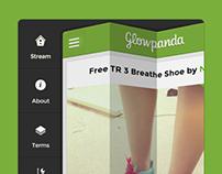 Glowpanda- Ios design and branding