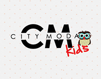CITY MODA KIDS Visual identity