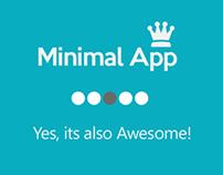 Minimal App UI Concept