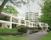 Offices.Rendering for OBR Architects