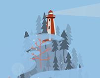 Editorial SVG Animation | Canada 150