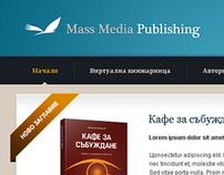 Web design for Mass Media Publishing