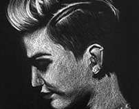 Miley Portrait