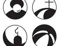 Piktogramy pro Perucký rozcestník