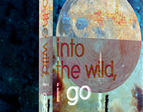 "Book Cover - ""into the wild, i go"""