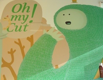 Oh my cut! - Mural
