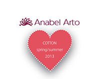 Anabel Arto spring/summer 2013 cotton