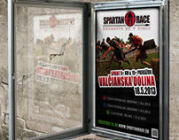 Spartan Race Slovakia - Posters for the 2013 season